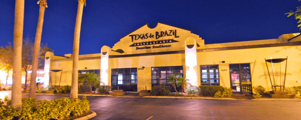 Dining near Disney World is the Texas de Brazil